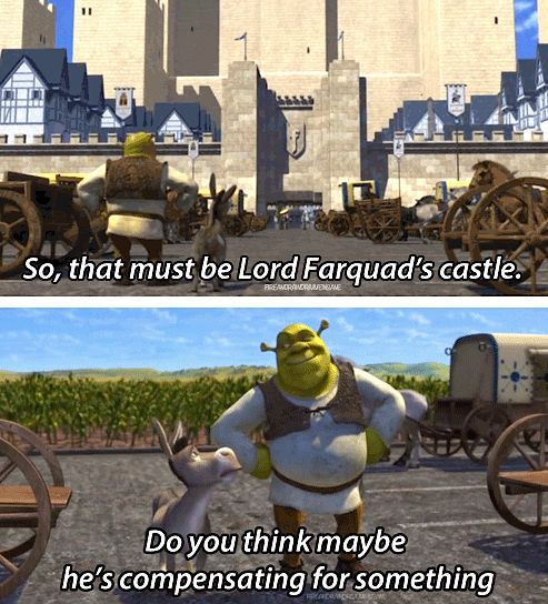 Shrek was always great for its adult humor.
