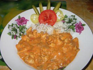 Heni modern konyhája: Bakonyi csirkemellragu