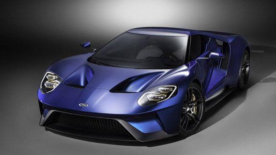 Суперкар Ford GT 2017 / Форд GT 2017