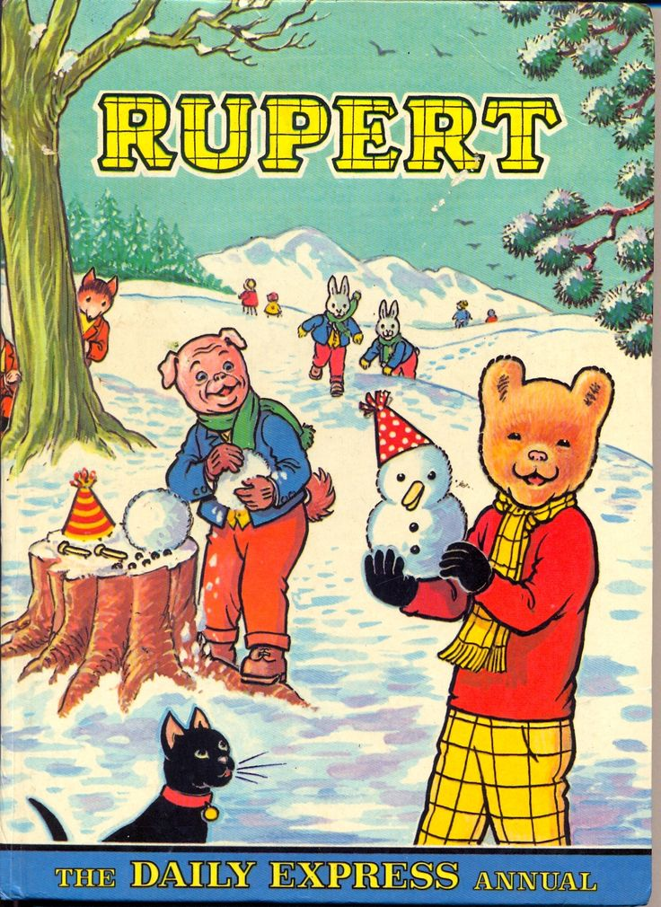 The Rupert Annual. An essential part of growing up in the 70's.