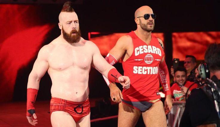 Sheamus And Cesaro Prepare For WrestleMania