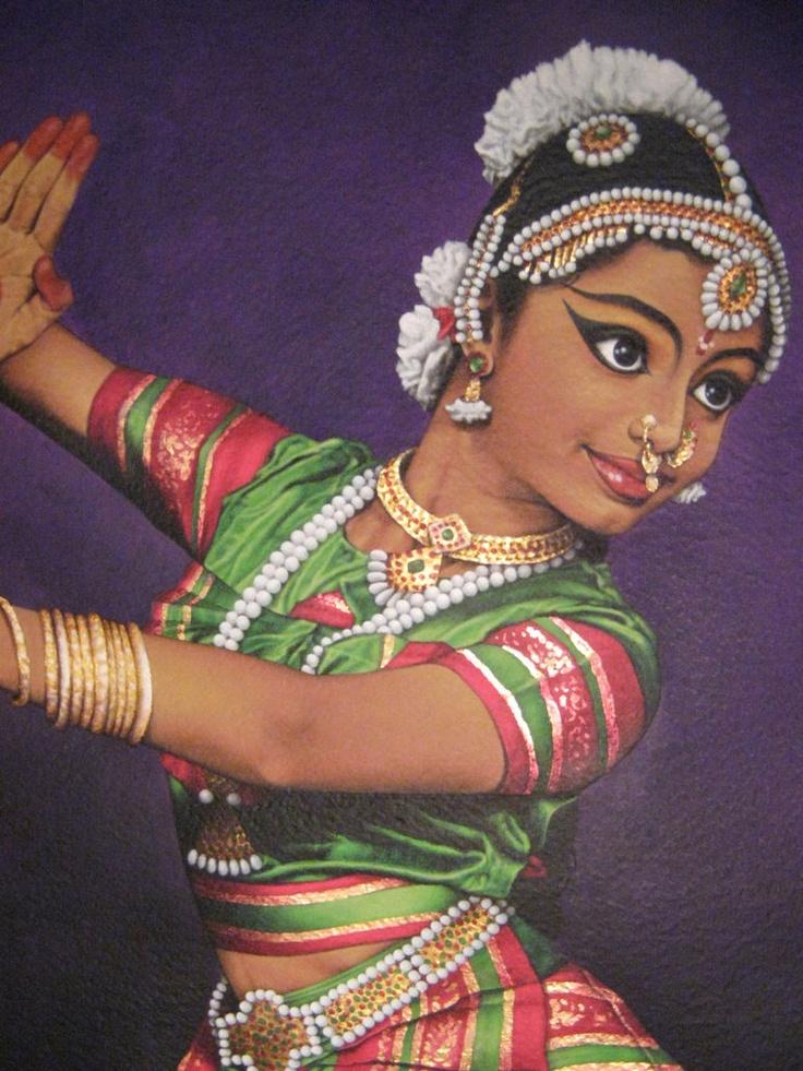 bharatanatyam dance painting - photo #22