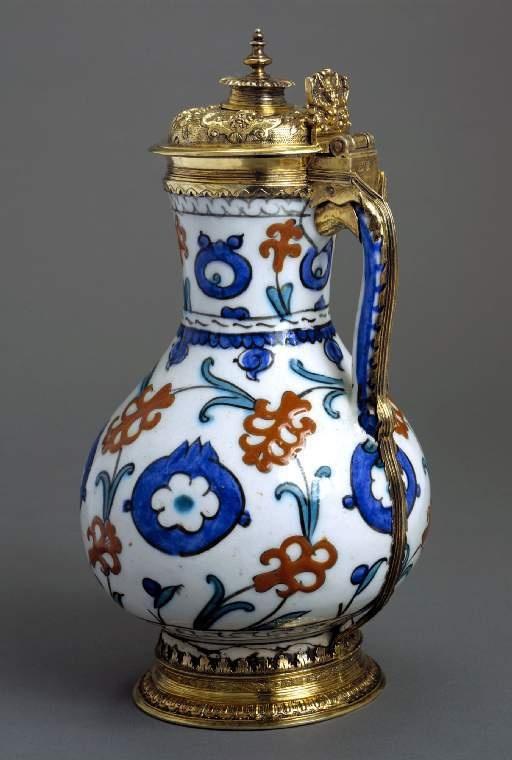 Jug fritware Iznik 1580 Ottoman