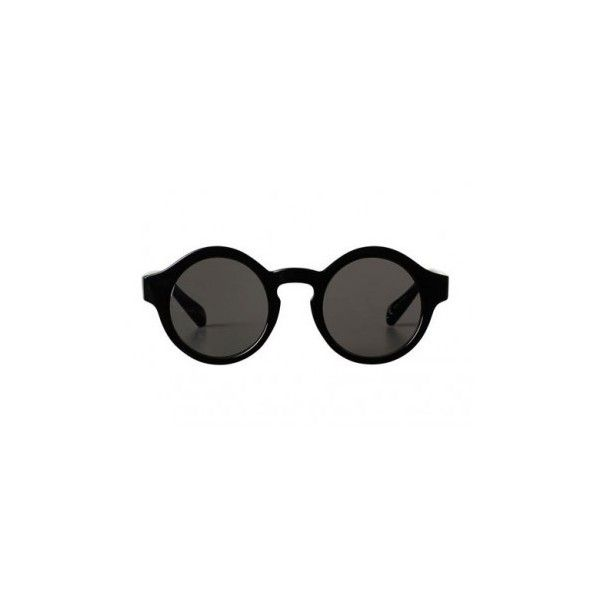 Round 80's sunglasses ($6.62) ❤ liked on Polyvore featuring accessories, eyewear, sunglasses, black glasses, vintage round glasses, black sunglasses, see through sunglasses and vintage circle sunglasses