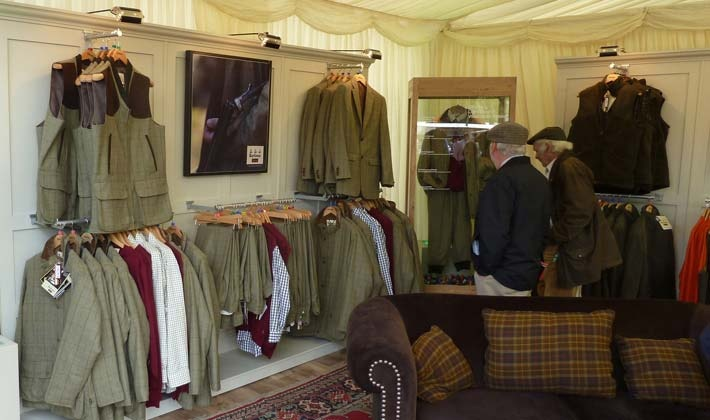 Barbour at the CLA Game Fair