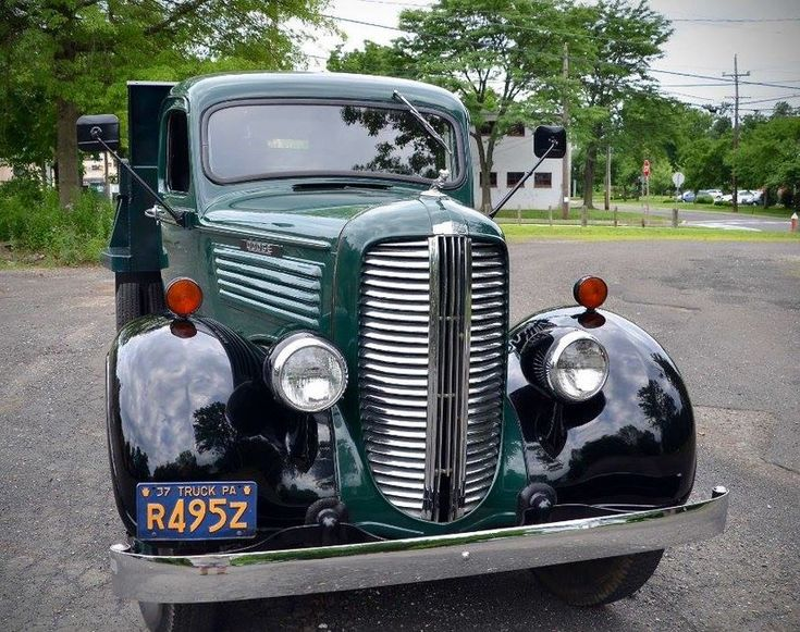 1937 Dodge Brothers 1 1/2 Ton ME 31 Dump Truck For Sale in Langhorne, Pennsylvania | Old Car Online