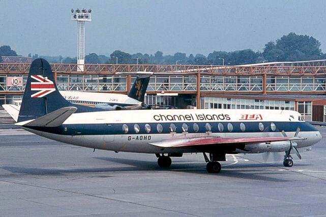 Photo of BEA - British European Airways Corporation Viscount G-AOHO