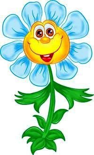Веселый цветок картинка для детей, животных приколом картинки