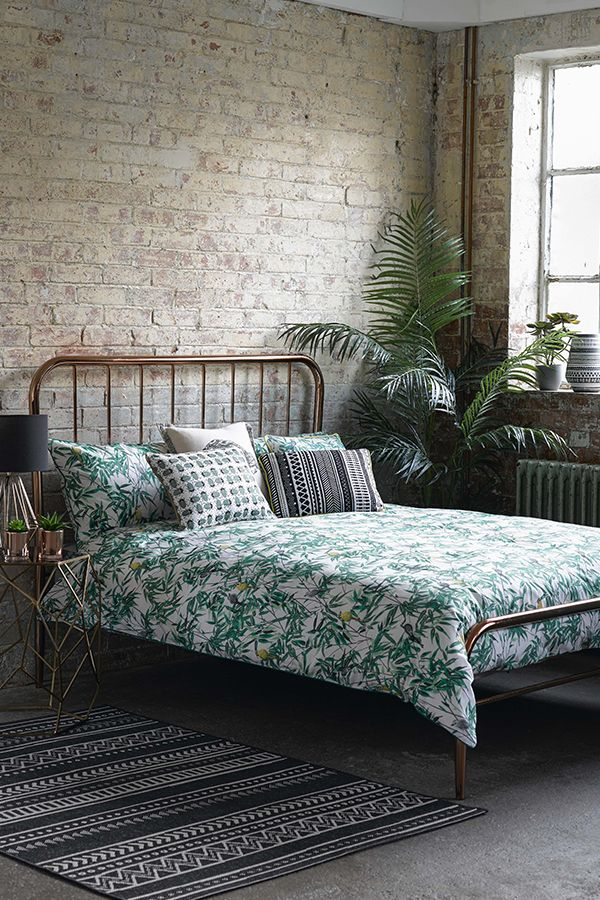 Mix monochrome, geometric and leaf prints to create your very own jungle with our new George Home botanical range.