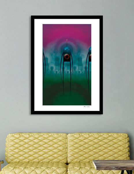 Discover «The monsters are here», Limited Edition Fine Art Print by Dorus…