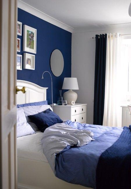 Love the blue & white