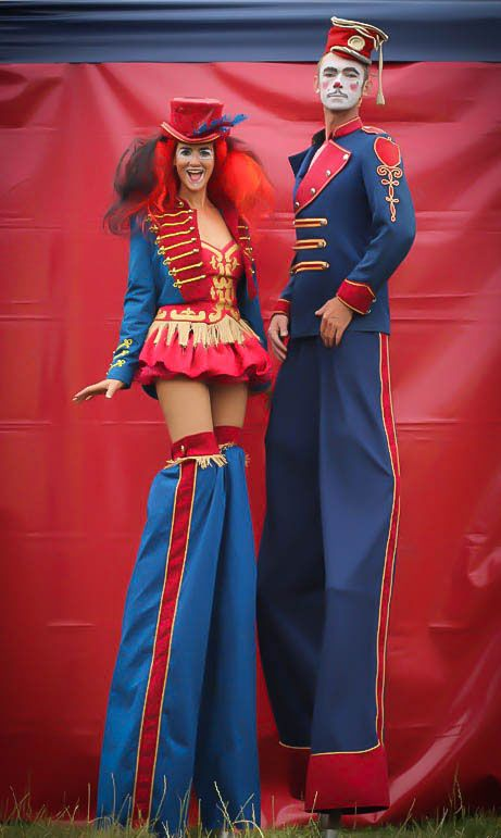 Hire our circus entertainers to bring fairground entertainment to your wedding