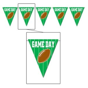 Game Day Football Pennant Banner