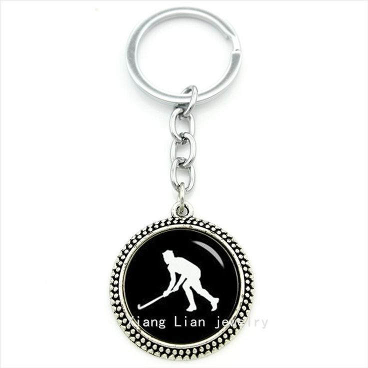 Cool sport fan gift field hockey all sports keychain glass cabochon silver jewelry plated. Metals Type: Zinc AlloyMetal color: Rhodium PlatedGender: MenShape\pattern: FigureModel Number: T381Style: Casual/SportyMaterial: MetalItem Type: Key ChainsFine or Fashion: FashionBrand Name: TAFREERing Material: IronWeight: About 20 gPackage: Giftwrap bagsPendant Size: About 30 mmGlass Cabochon Size: 25 mmPendant Material: AlloyOccasion: Gifts, Party, Wedding, Engagement, AnniversaryCircle Size: 28 mm…