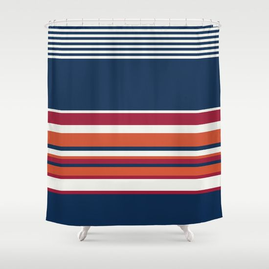 Ahoy Captain! Shower Curtain