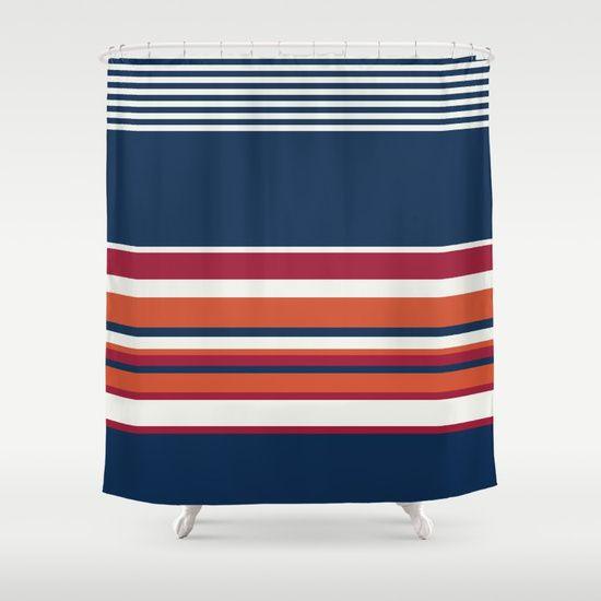 Ahoy Captain! Shower Curtain