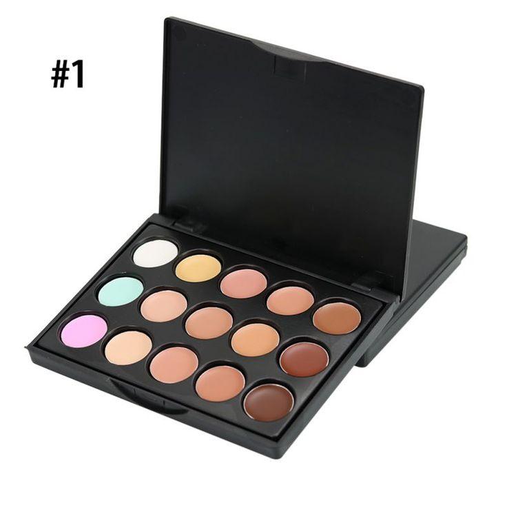 Profesional Concealer Palette Makeup Krim Wajah Contour Palette Set TQ