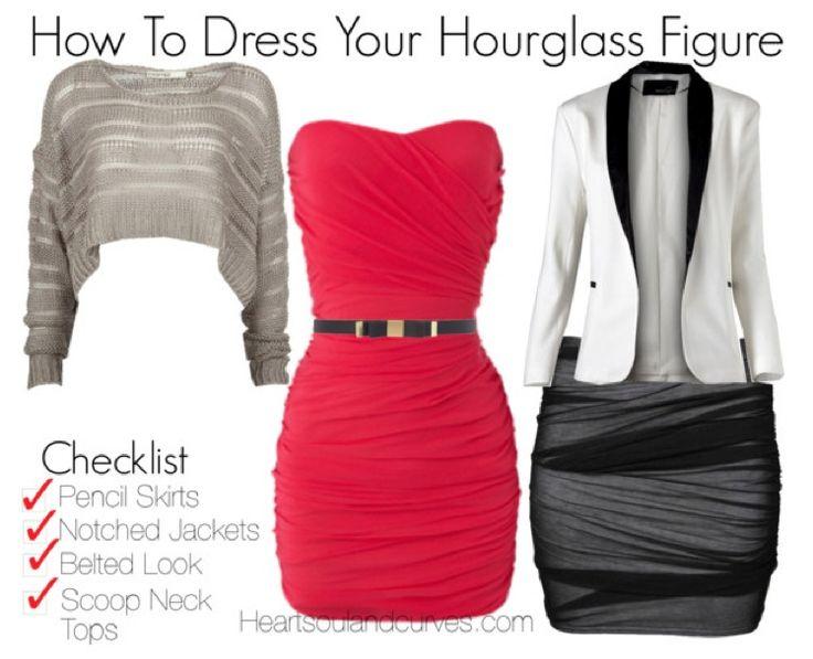 Hour glass body type fashion essentials