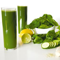 Lots of green juice recipes