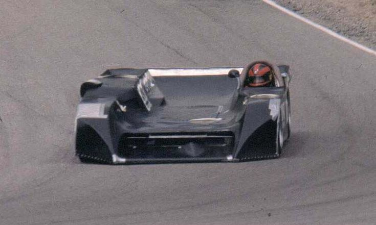 SCCA can am racecar at Mosport 1983