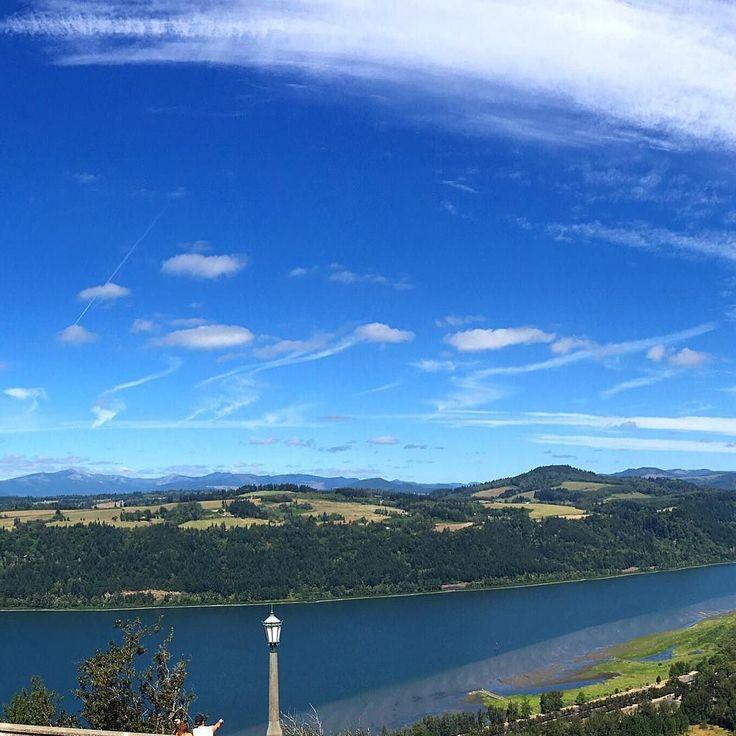 ... des gorges de la rivière Columbia...   ... of the Columbia Gorge...