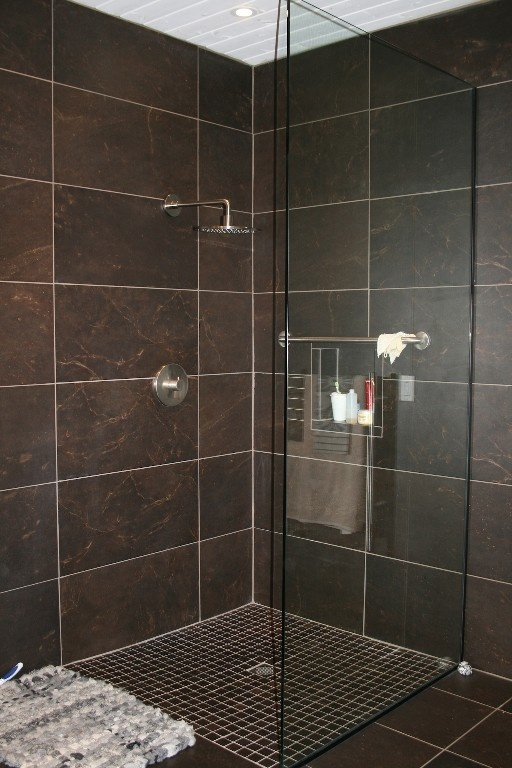 Luxurious Tiled Shower Love This Look, Will Go With Anything, Can Change  From The Part 95