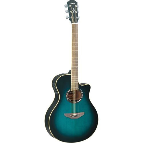 Yamaha Electric / Acoustic Guitar (APX500II) - Blue
