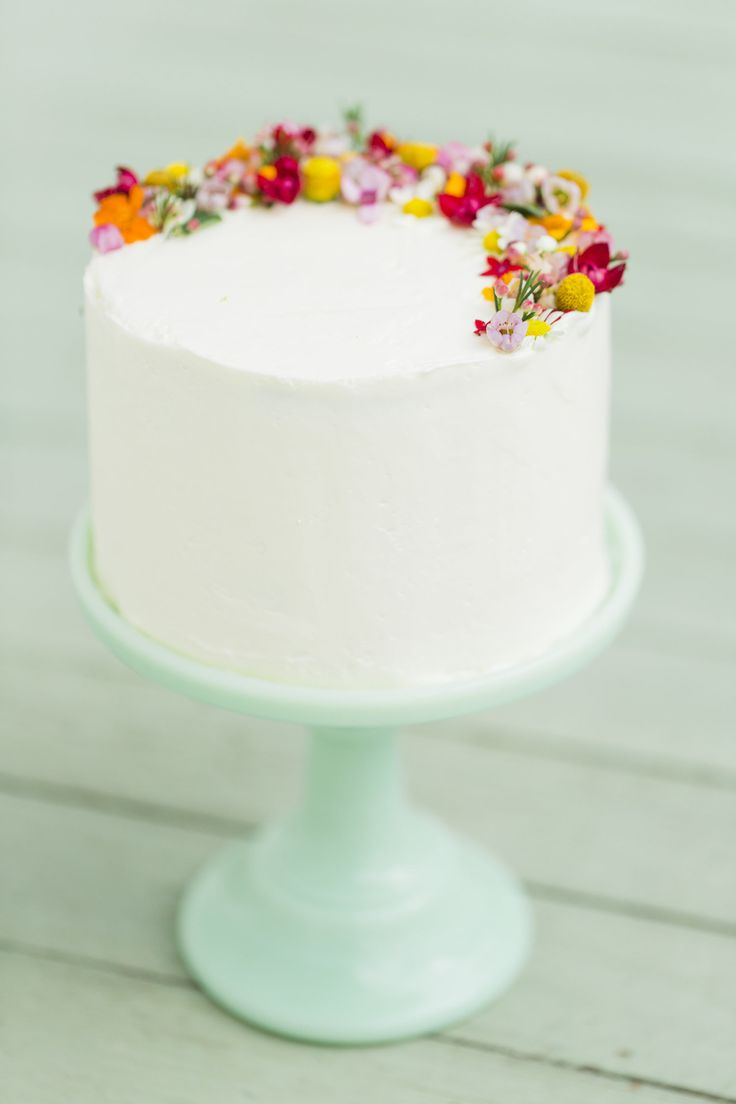 Floral + Honey Cake