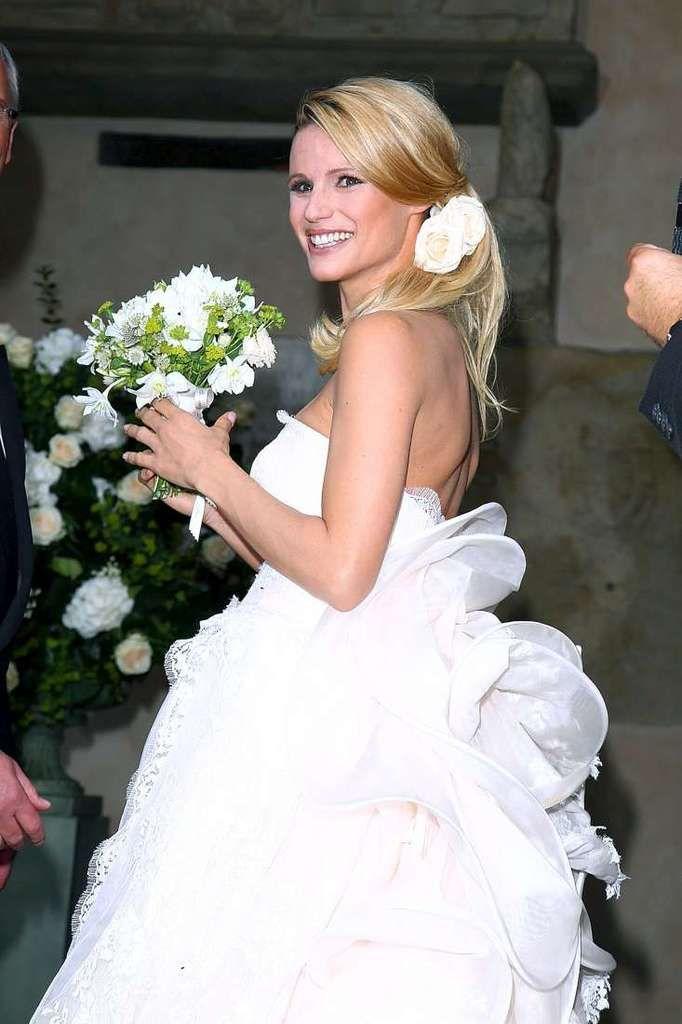 Michelle Hunziker e Tomaso Trussardi sono moglie e marito.