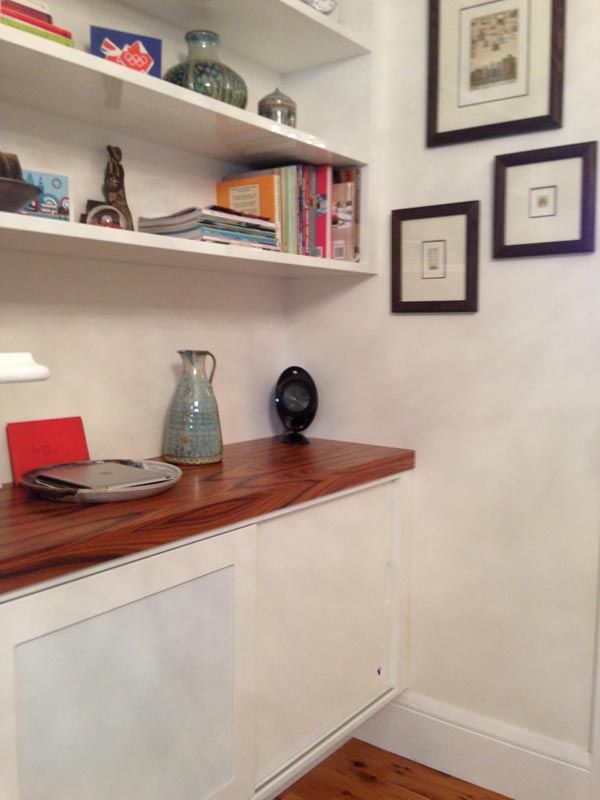 wooden bench finish