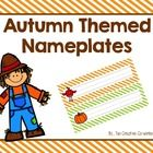 These kid-friendly nameplates are perfect for Autumn!  The set includes 6 Fall colored backgrounds (stripes, polka dots, and chevron) with adorable...