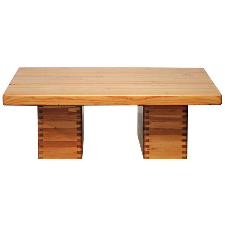 ILMARI TAPIOVAARA pine side table Finland
