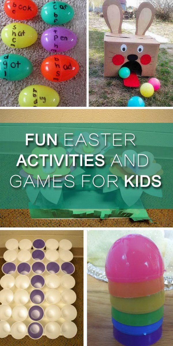 Fun Easter Activities and Games for Kids!