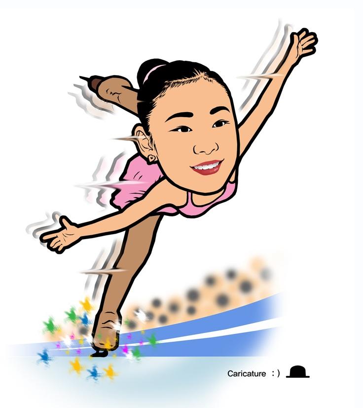 """김연아(金姸兒, 1990년 9월 5일 ~ )는 대한민국의 여자 피겨 스케이팅 선수. 박우철의 """"꿈과 희망을 주는 캐리커처"""" (여러분의 장래를 좌우하는 요인은 여러가지가 있지만, 그 중 가장 중요한 것은 바로 여러분 자신이다. - 프랭커 타이거)"""