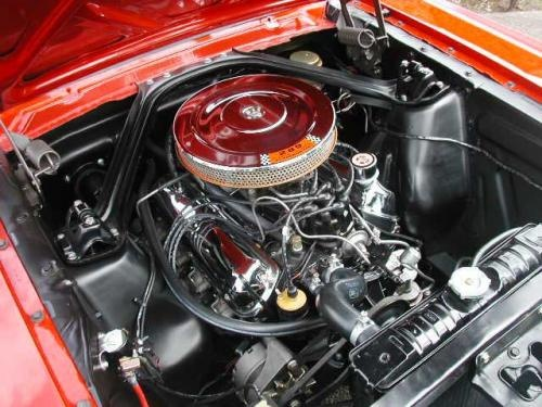 1965 Mustang GT engine (With images) | Vintage mustang ...