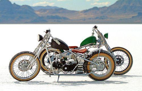 Bobber Inspiration | Bobbers & Custom Motorcycles | BONNEVILLE BOBBERS by FLUIDIMAGES on Flickr.