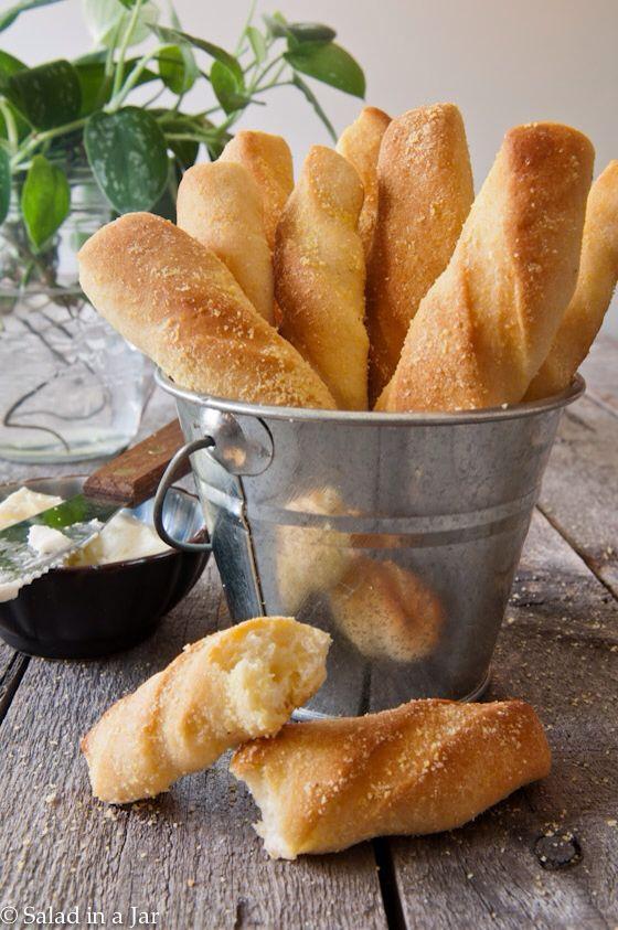 cornbread twists