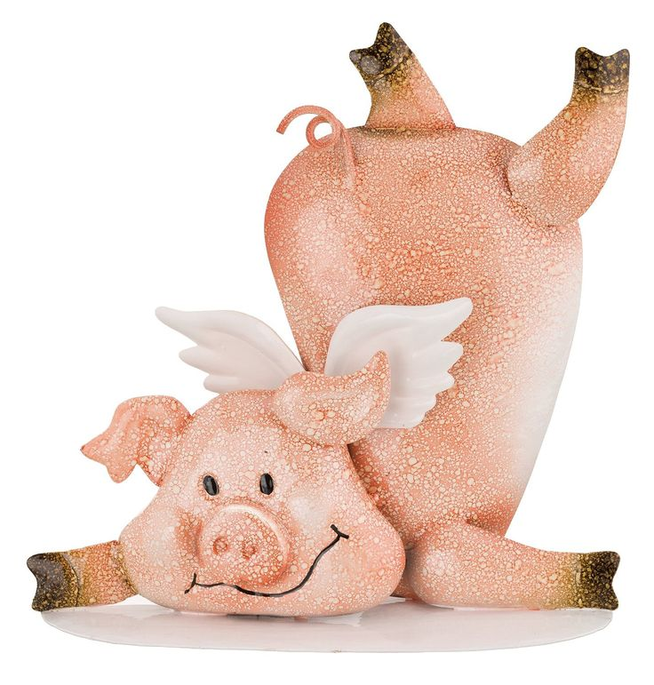 Fallen Piggy Angel Decor By Regal Art U0026 Gift