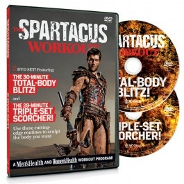 Spartacus workout - Saturday's workout