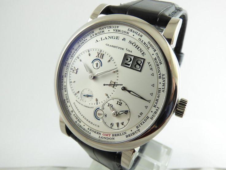 A. Lange & Söhne Timezone Lange1 Whitegold - Mint - für 29.980€ kaufen von einem Trusted Seller auf Chrono24