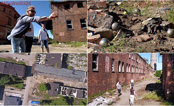 Stara fabryka, opuszczone budynki... Im bardziej ekstremalnie, tym lepszy trening