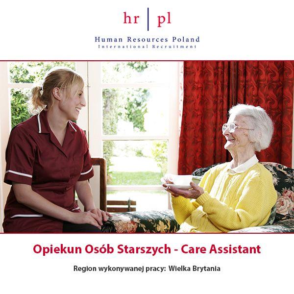 Dziś polecamy ofertę: Opiekun(-ka) osób starszych  Stanowisko: Opiekun osób starszych Miejsce pracy: Wielka Brytania