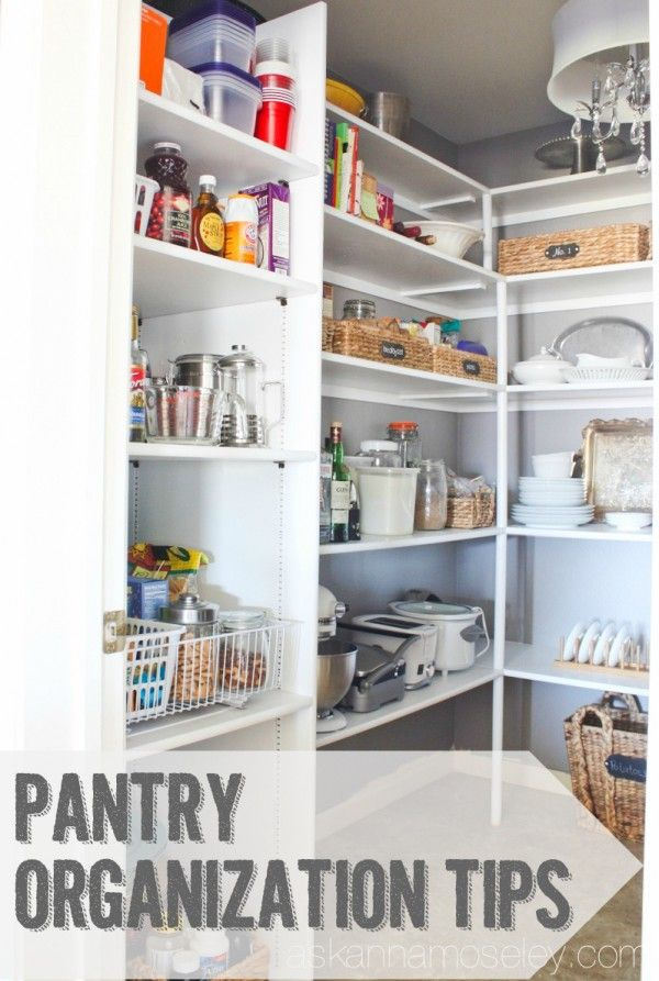 5 Tips For A Gorgeous And Organized Pantry: 187 Best Images About OCD Is FUN! On Pinterest