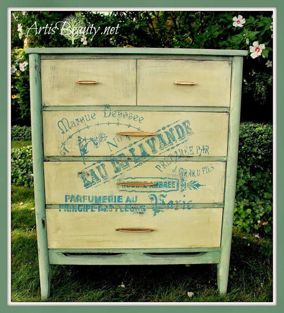 ART IS BEAUTY: Free dresser turned OOH LA LA...French Beauty