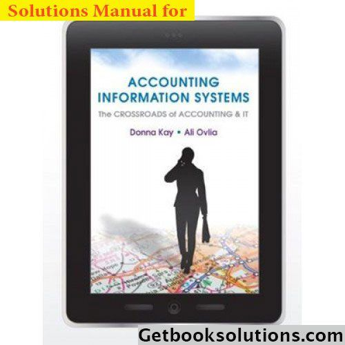 200 best solutions manual images on pinterest solution manual for accounting information systems the crossroads of accounting and it 1st edition by kay fandeluxe Gallery