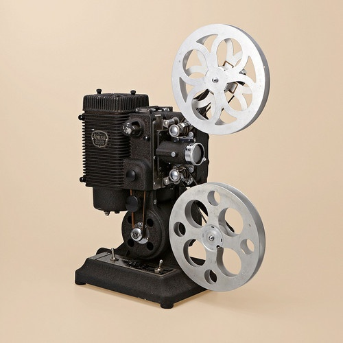 Vintage Movie Projector traditional home electronics