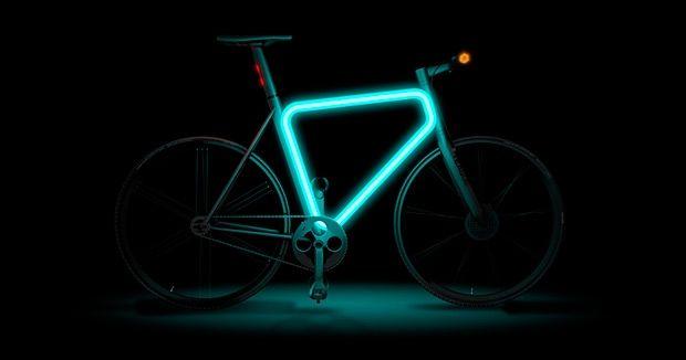 Glow in the dark Bike!