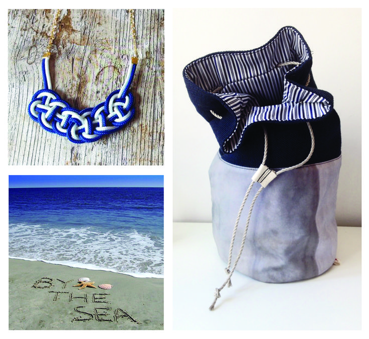 3in1 backpack and rope necklace by the sea • by Cziribu