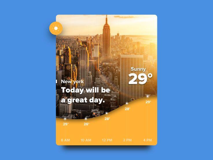 Day 014 — Weather Widget by Giovanni Xu