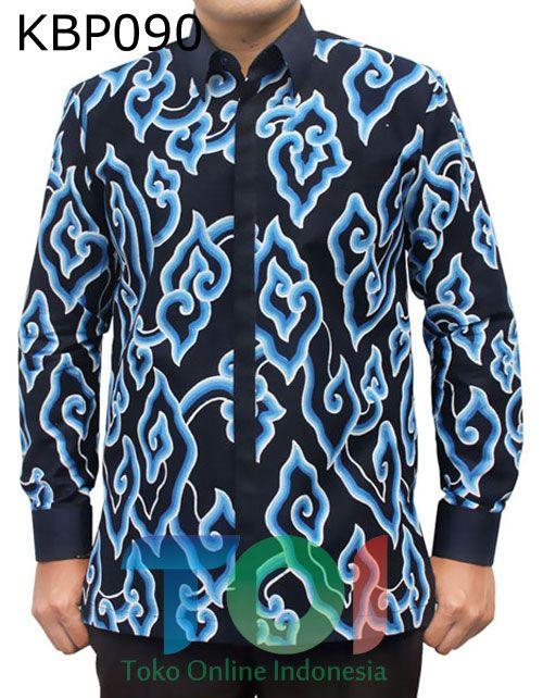 batik motif mega mendung, bahan katun, full furing